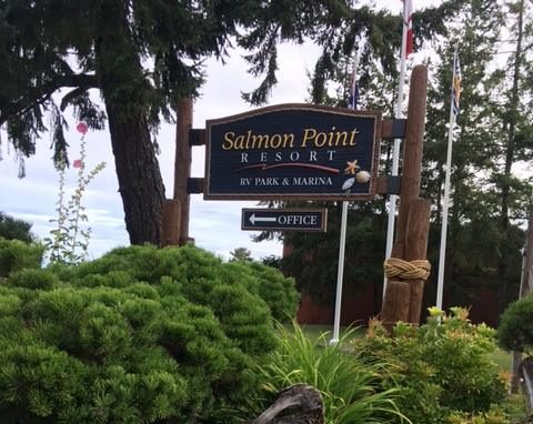 Salmon Point Resort, RV Park & Marina, Vancouver Island
