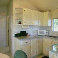 Cabin Kitchen Salmon Point Resort